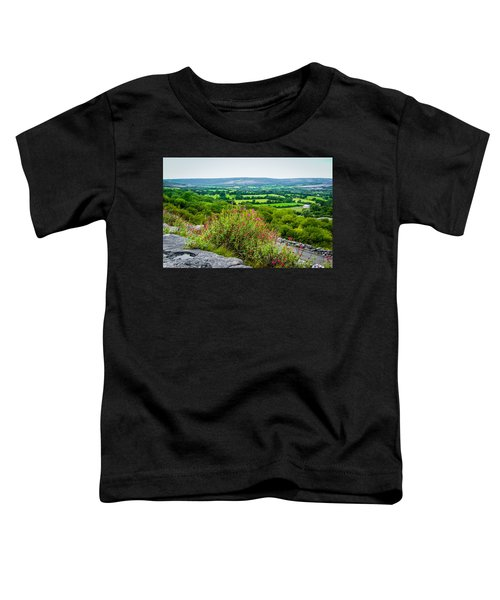 Toddler T-Shirt featuring the photograph Burren National Park's Lovely Vistas by James Truett