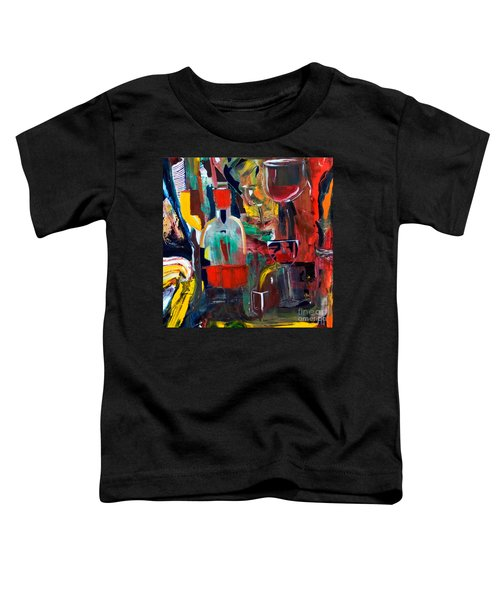 Cut IIi Wine Woman And Music Toddler T-Shirt
