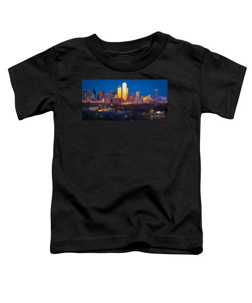 Dallas Skyline Toddler T-Shirt