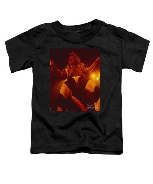 David Lee Roth - Van Halen At The Oakland Coliseum 12-2-1978 Rare Unreleased Toddler T-Shirt