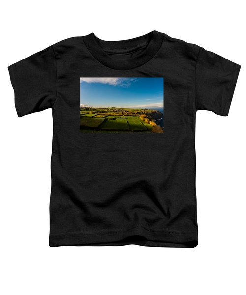 Fields Of Green And Yellow Toddler T-Shirt