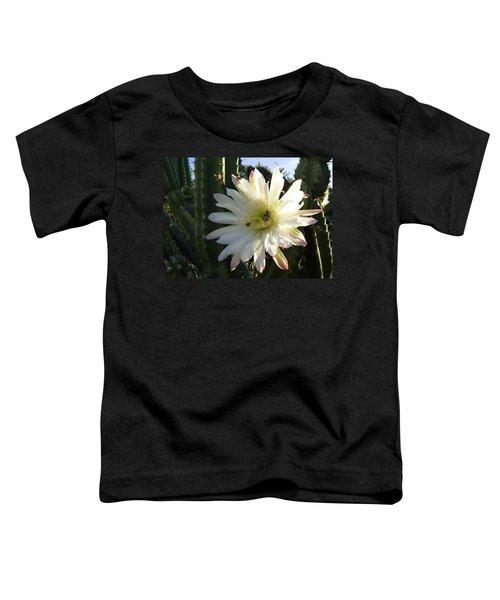 Flowering Cactus 1 Toddler T-Shirt
