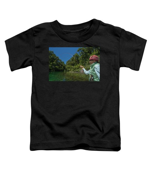 Fly Fishing Patagonia, Argentina Toddler T-Shirt