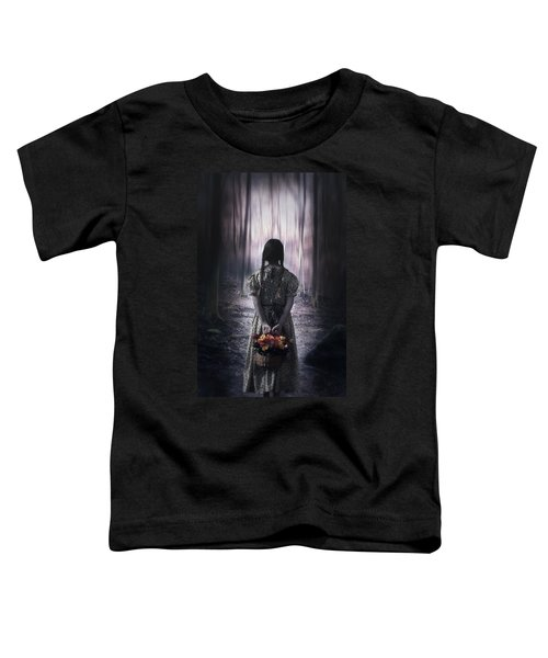 Girl In The Woods Toddler T-Shirt