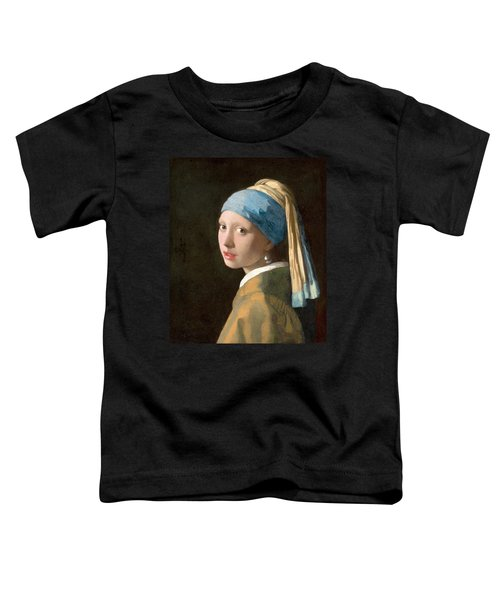 Girl With A Pearl Earring Toddler T-Shirt