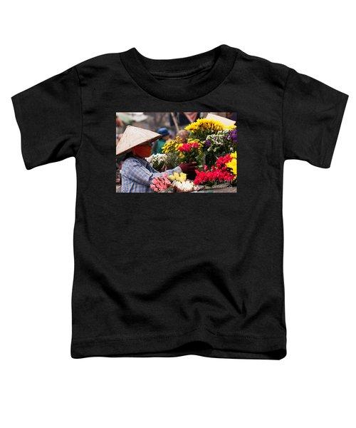 Hanoi Flowers 03 Toddler T-Shirt