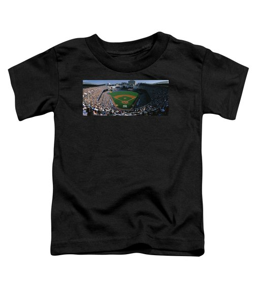 High Angle View Of A Baseball Stadium Toddler T-Shirt by Panoramic Images