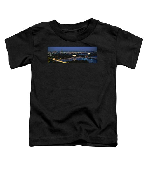High Angle View Of A City, Washington Toddler T-Shirt
