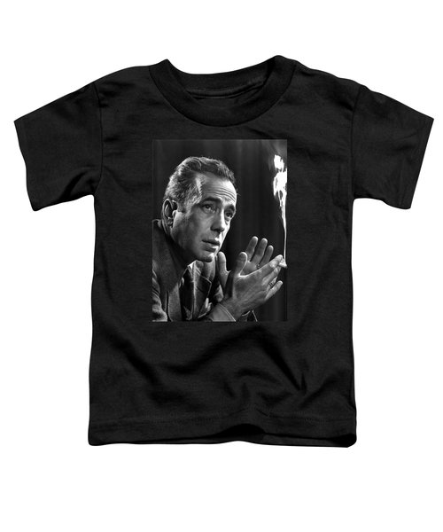 Humphrey Bogart Portrait 2 Karsh Photo Circa 1954-2014 Toddler T-Shirt