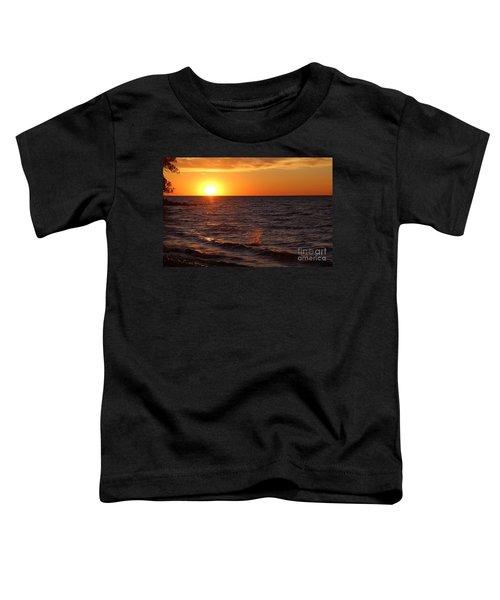 Lake Ontario Sunset Toddler T-Shirt