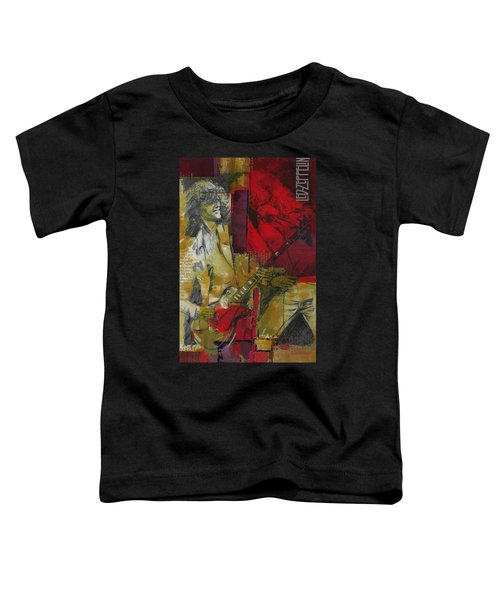 Led Zeppelin  Toddler T-Shirt by Corporate Art Task Force
