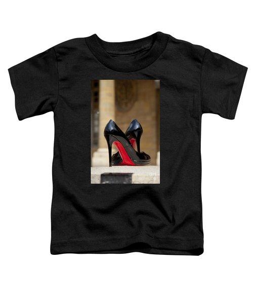 Louboutin Heels Toddler T-Shirt