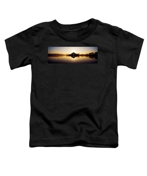 Memorial At The Waterfront, Jefferson Toddler T-Shirt by Panoramic Images