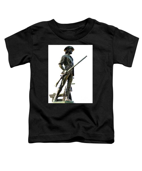Minute Man Statue Concord Ma Toddler T-Shirt