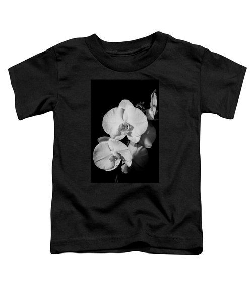 Moth Orchid Bw Toddler T-Shirt