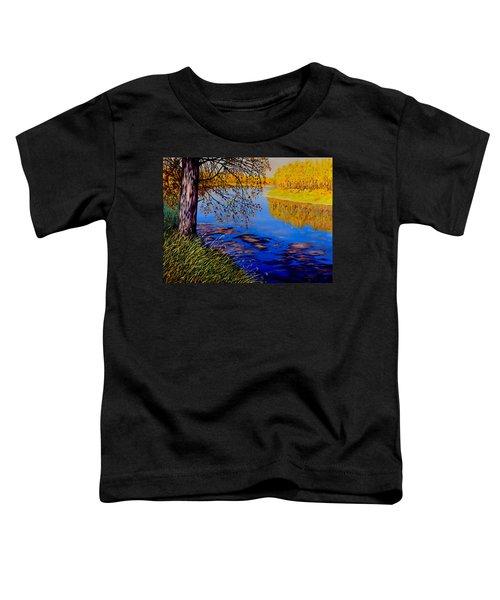 October Afternoon Toddler T-Shirt