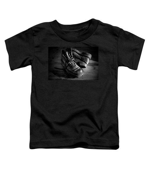 Old Leather Shoes Toddler T-Shirt