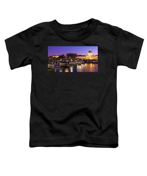 Pont Des Arts At Night / Paris Toddler T-Shirt