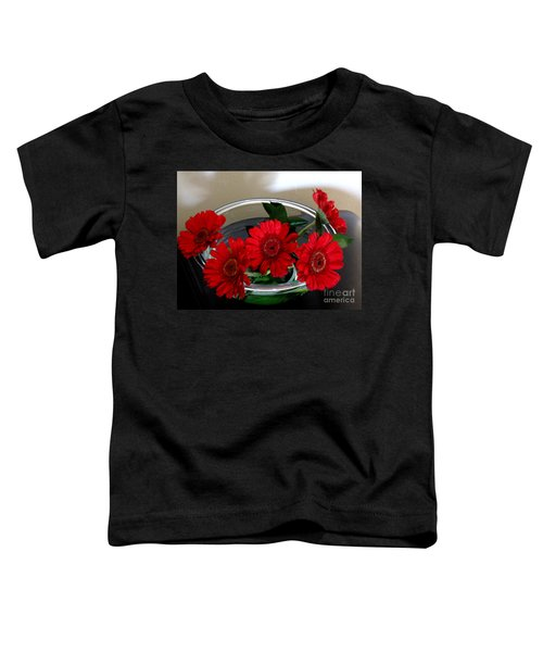 Red Flowers. Special Toddler T-Shirt
