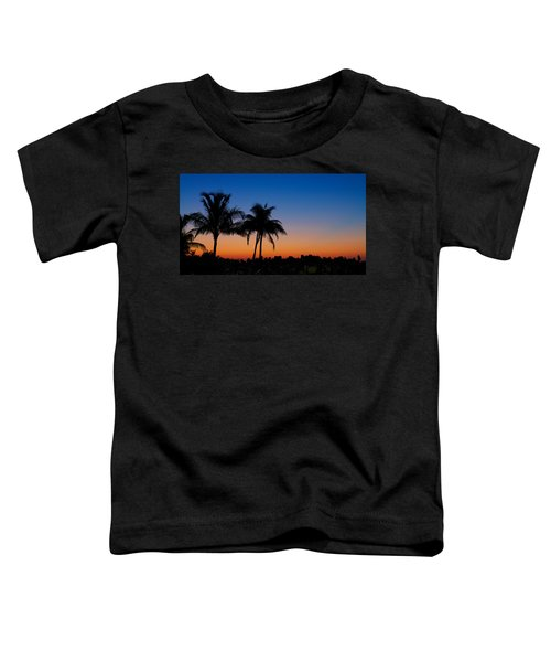 Sanibel Island Florida Sunset Toddler T-Shirt