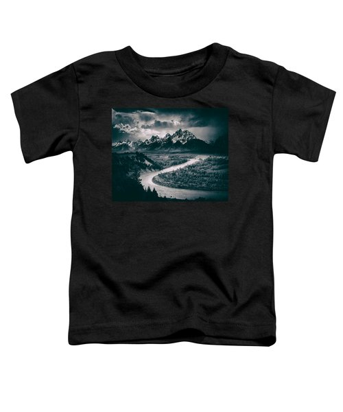 Snake River In The Tetons - 1930s Toddler T-Shirt