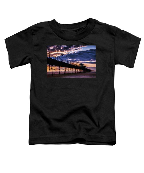 Southport Pier At Sunset Toddler T-Shirt