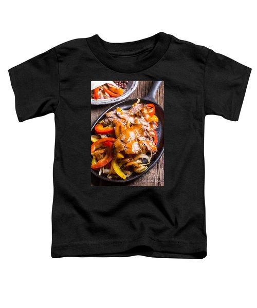 Steak Fajitas Toddler T-Shirt