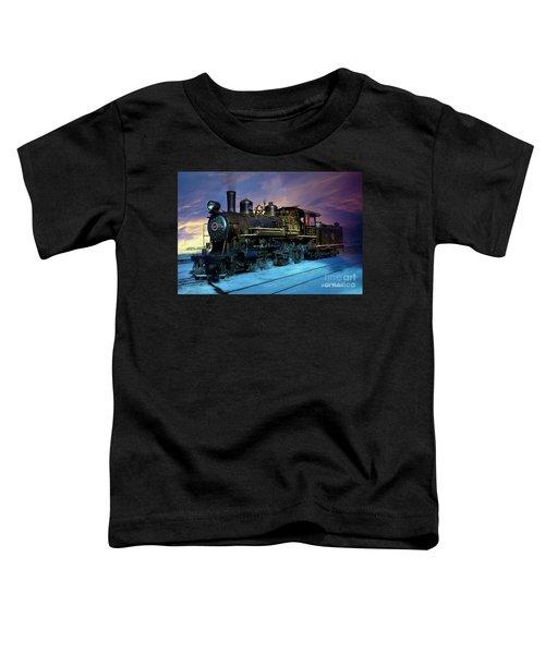 Steam Engine Nevada Northern Toddler T-Shirt