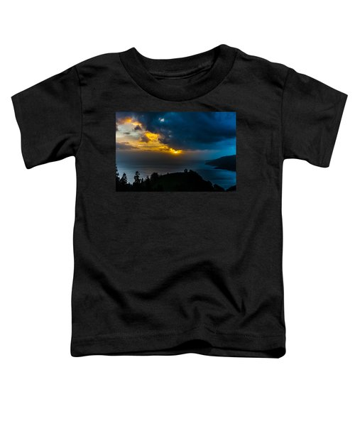 Sunset Over Blue Toddler T-Shirt