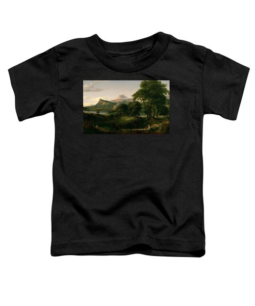 The Course Of Empire The Arcadian Or Pastoral State Toddler T-Shirt