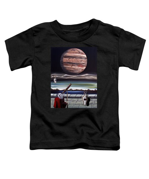 The Eternal Staring Contest Toddler T-Shirt