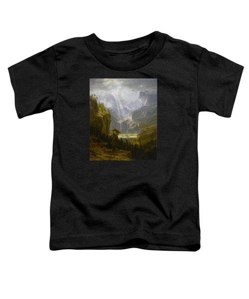 The Rocky Mountains Lander's Peak Toddler T-Shirt