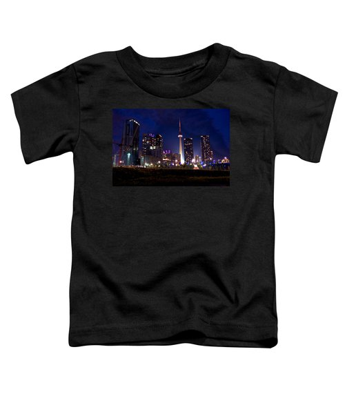 Toronto By Night Toddler T-Shirt
