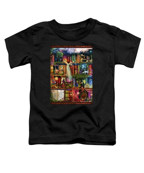 Treasure Hunt Book Shelf Toddler T-Shirt