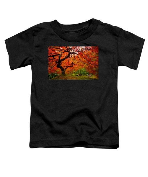 Tree Fire Toddler T-Shirt