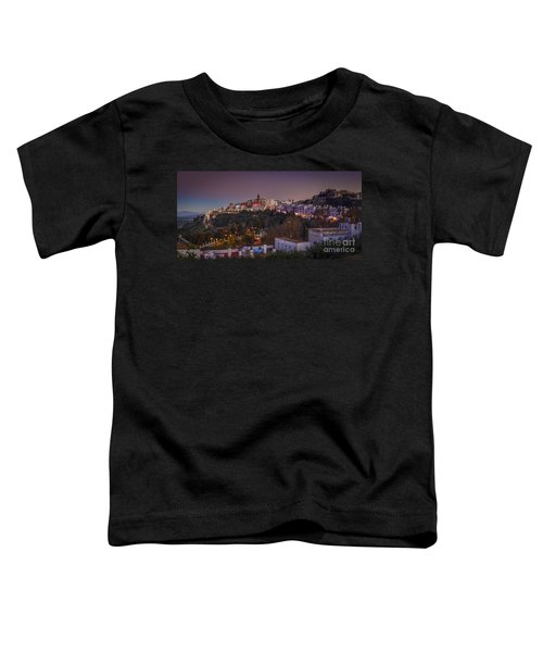 Vejer De La Frontera Panorama Cadiz Spain Toddler T-Shirt