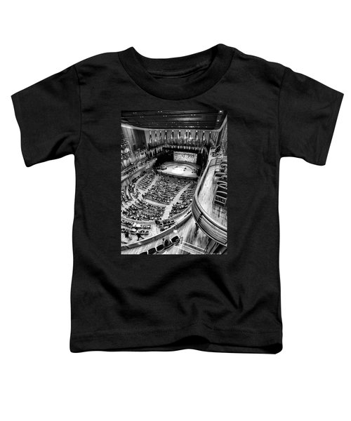 View From The Upper Balcony At Strathmore Music Center Toddler T-Shirt