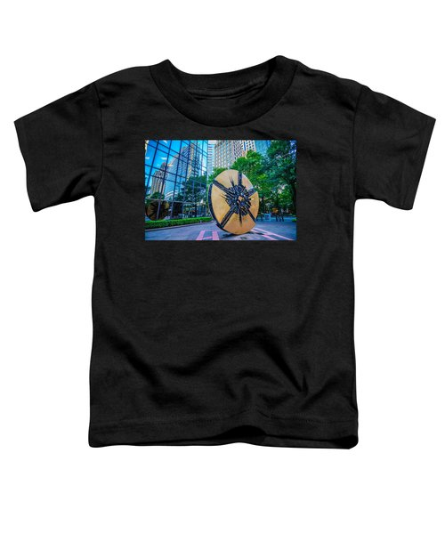 Skyline And City Streets Of Charlotte North Carolina Usa Toddler T-Shirt