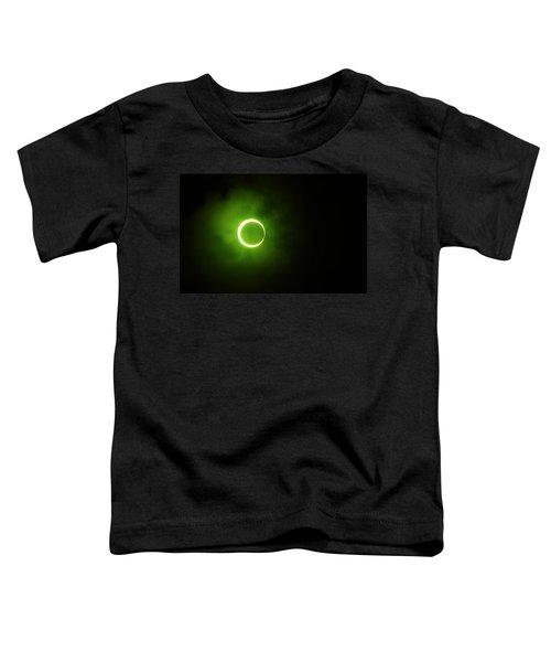 15 January 2010 Solar Eclipse Maldives Toddler T-Shirt