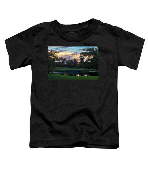 15th Green At Hollybrook Toddler T-Shirt