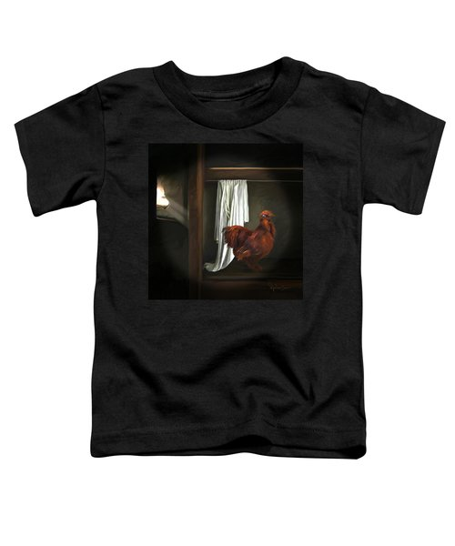 18. Red Rooster Toddler T-Shirt