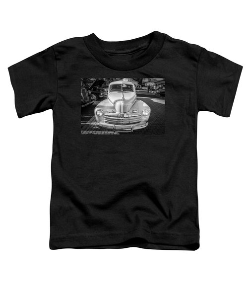 1946 Ford Super Deluxe Coupe Bw  Toddler T-Shirt