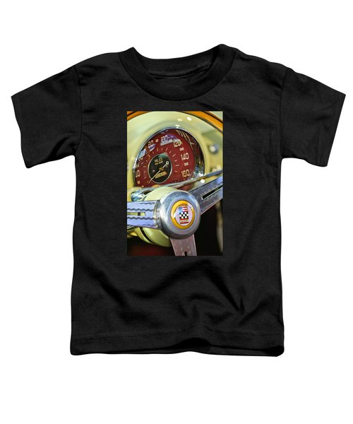 1953 Cunningham C3 Continental Coupe Steering Wheel Emblem Toddler T-Shirt