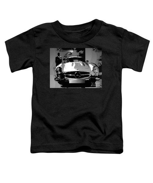 1956 Mercedes Benz 300 Sl Gullwing Toddler T-Shirt