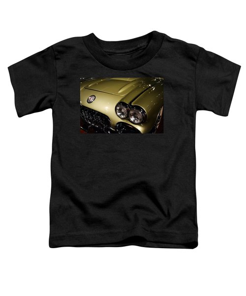 1958 Fancy Free Corvette J58s Toddler T-Shirt