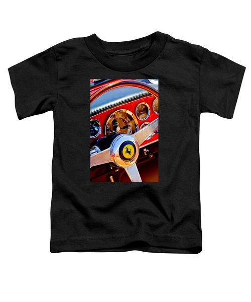 1960 Ferrari 250 Gt Cabriolet Pininfarina Series II Steering Wheel Emblem -1319c Toddler T-Shirt