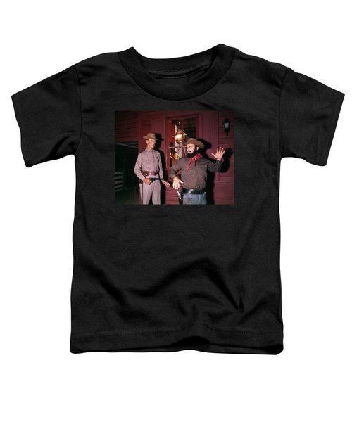 1960s 1970s Western Sheriff Arrests Toddler T-Shirt
