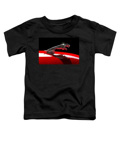 1961 Jaguar Kougar Hood Ornament -0569c Toddler T-Shirt