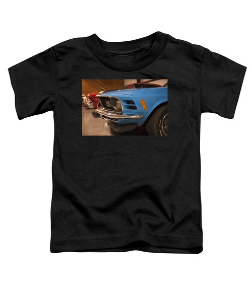 1970 Mustang Mach 1 And Other Classics Hidden In A Garage Toddler T-Shirt