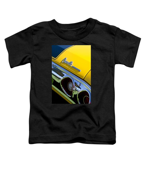 1972 Chevrolet Chevelle Taillight Emblem Toddler T-Shirt